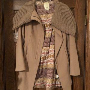 Anthropologie Elevenses Coat